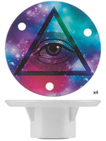 Illuminati RADnuts (Set of 4) Bearing Protectors