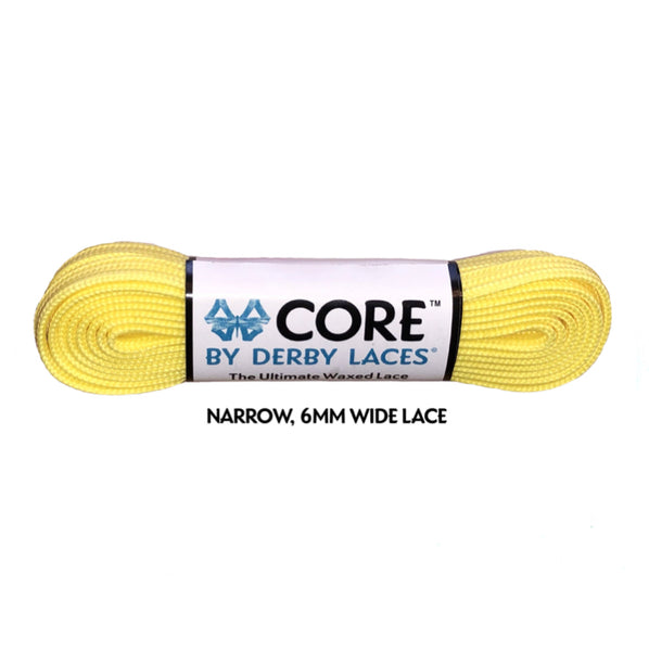 Lemon Yellow CORE Laces (Narrow 6MM)