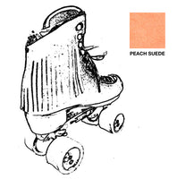 Peach Suede Fringe Kit for Roller Skates *ONLY COMPATIBLE with SPECIFIC Brands/Sizes in the dropdown menu*