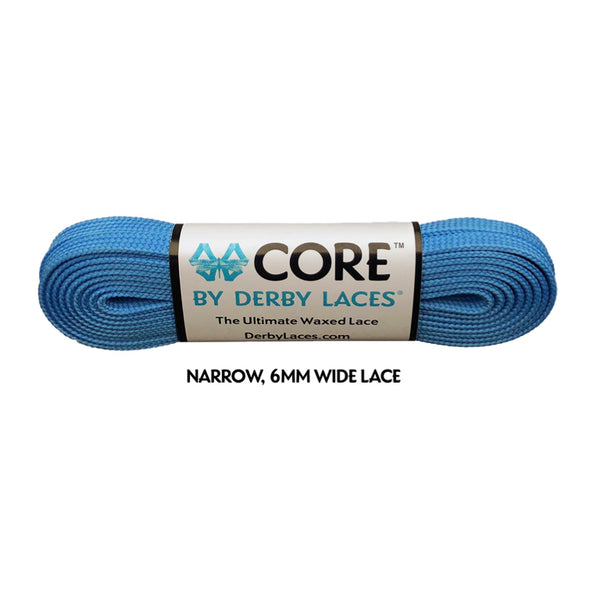 Pool Blue CORE Laces (Narrow 6MM)