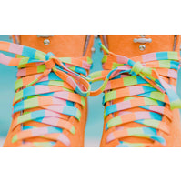 Warm Shades Beach Block Skate Laces