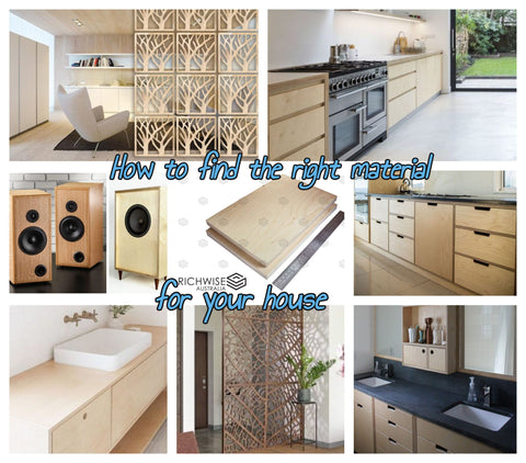 Finding the right material for your house