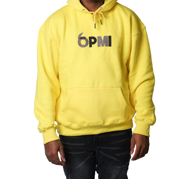 Big Brain OPMI Logo Oversized Pullover Hoodie