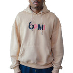 Load image into Gallery viewer, Big Brain OPMI Logo Oversized Pullover Hoodie