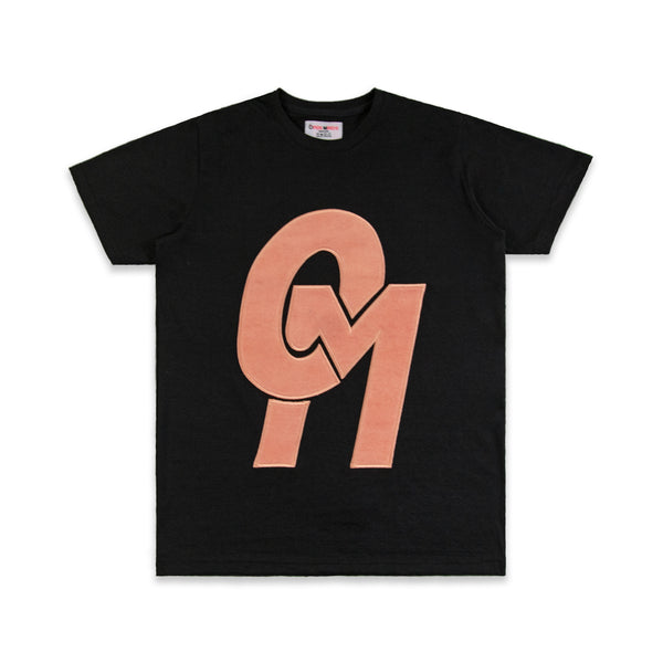 OM Chenille Patch Logo Tee