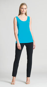 Clara Sun Woo Scoop Neck Tank