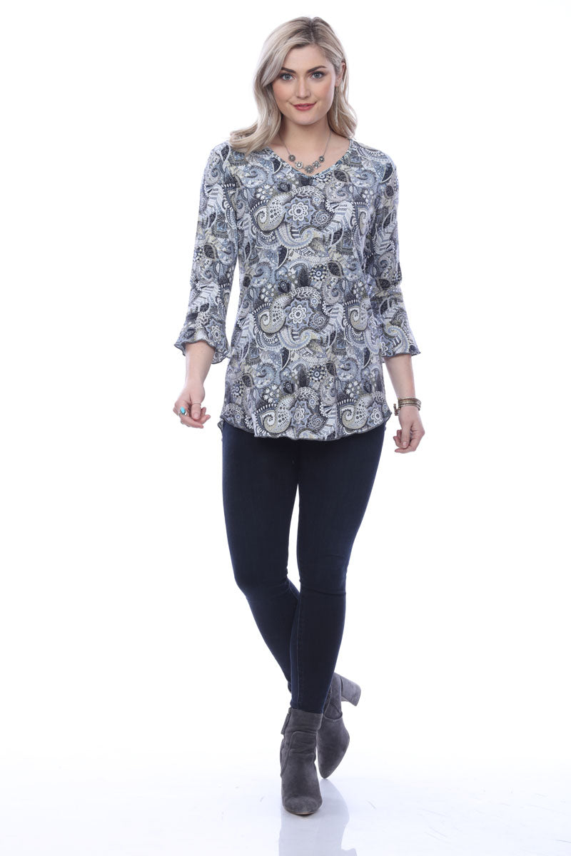 Parsley and Sage Paisley Tunic