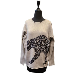 Charlie B Leopard Sweater