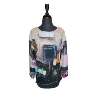 Trisha Tyler Crew Neck Top