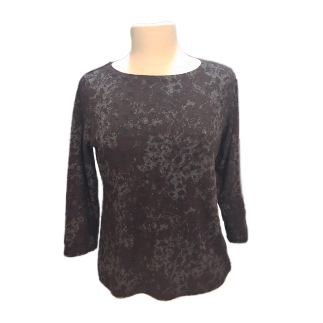 Cut Loose 3/4 Sleeve Boatneck Top