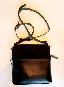 Sondra Roberts Crossbody Suede Purse