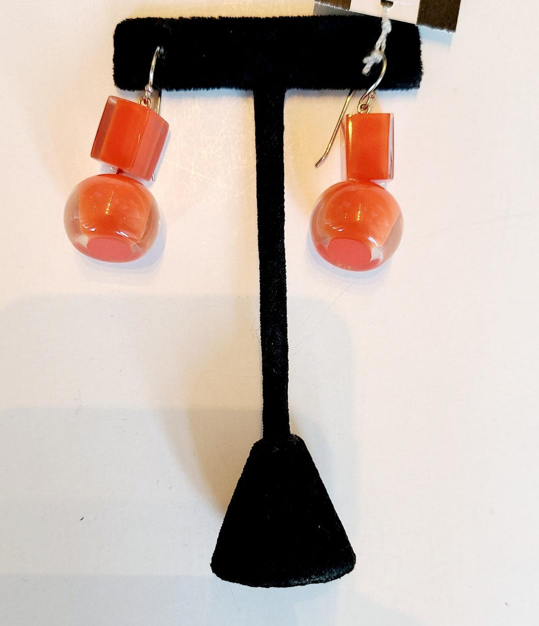 Zsiska Square & Ball Drop Earrings