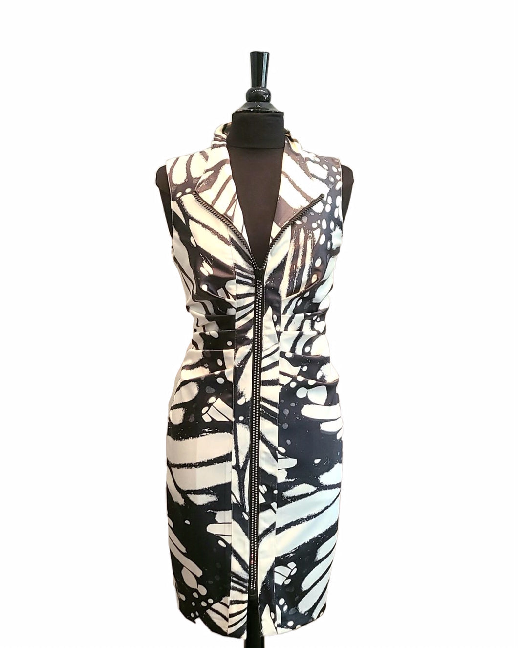 Frank Lyman Print Zip Dress