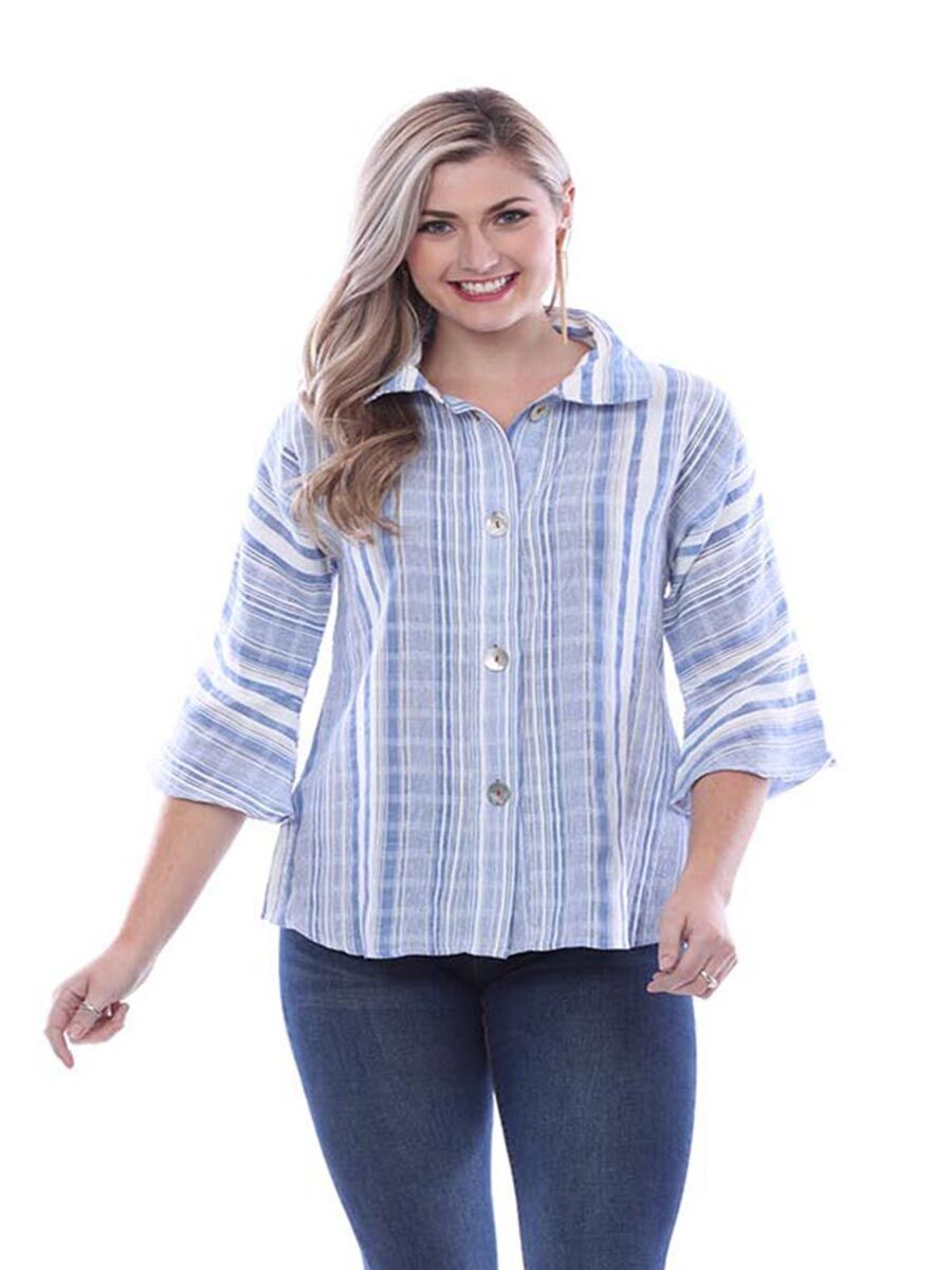 Parsley & Sage Stripe Shirt