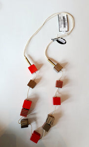 Alisha D Block Necklace
