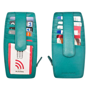 ILI Card Holder With Zip Pocket