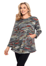 Load image into Gallery viewer, Trisha Tyler Space Dye Sweater Tunic