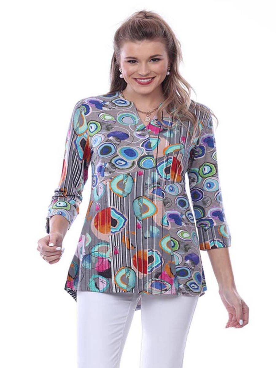 Parsley & Sage Abstract Tunic