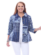 Load image into Gallery viewer, Parsley and Sage Reversible Button Front Shirt/Jacket