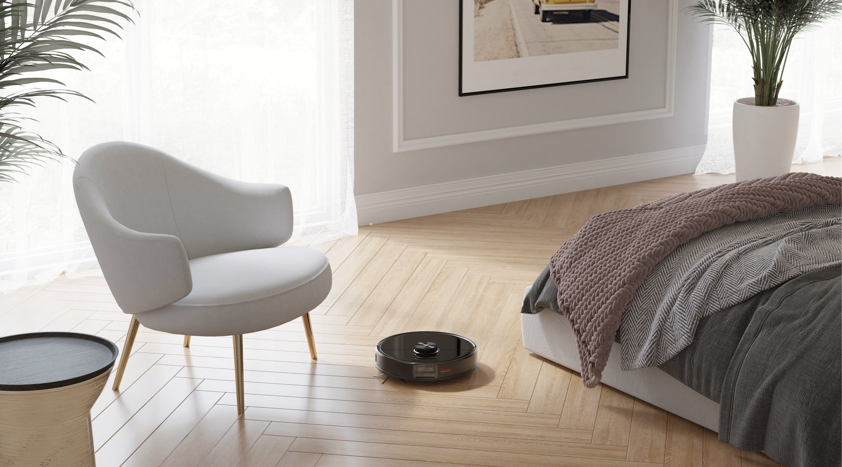 Use Roborock S6 MaxV to reach more floors and unlock advanced mopping features