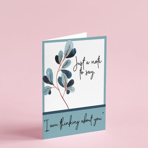 Just a Note to Say | Greeting Card