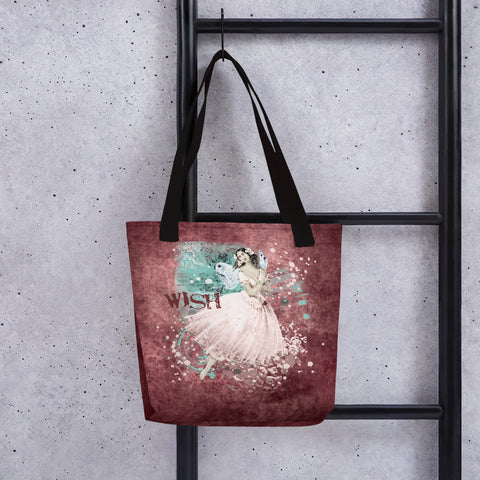 Wish | A Fairy in Pink | Tote Bag