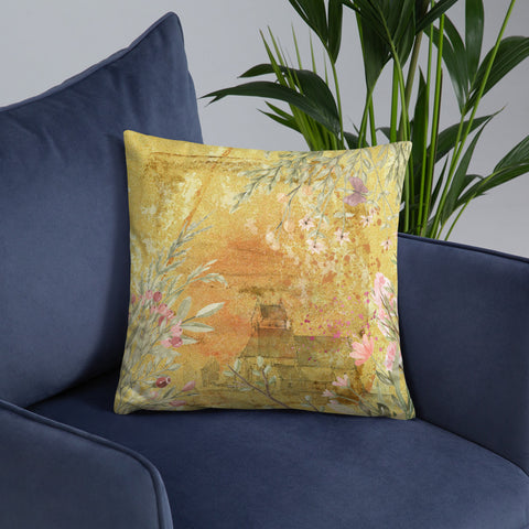 Abundant Spring | Throw Pillow