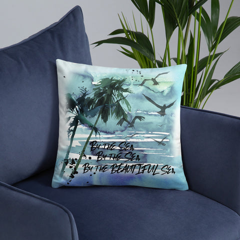 By the Sea | Nautical | Throw Pillow