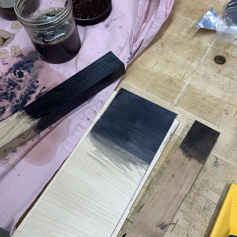 Testing different wood types