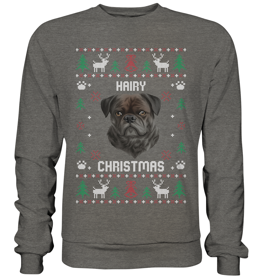 Hairy Christmas Sweater