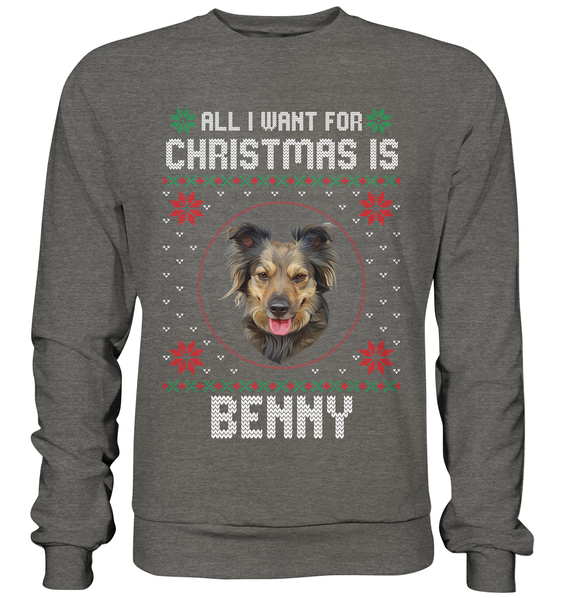 I want for Christmas - Basic Sweatshirt