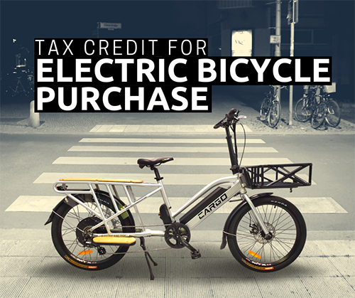 A House Bill Would Offer Tax Credit For An E-Bike