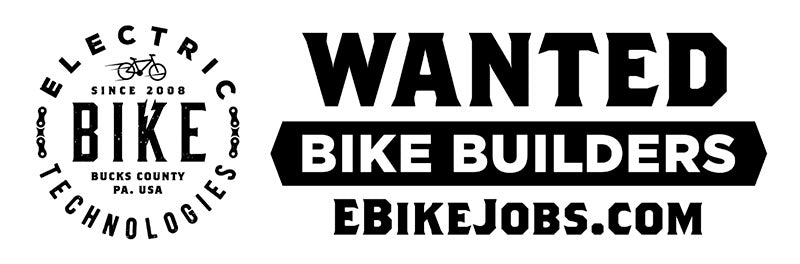 WANTED: Bike Builders Apply at Ebikejobs.com