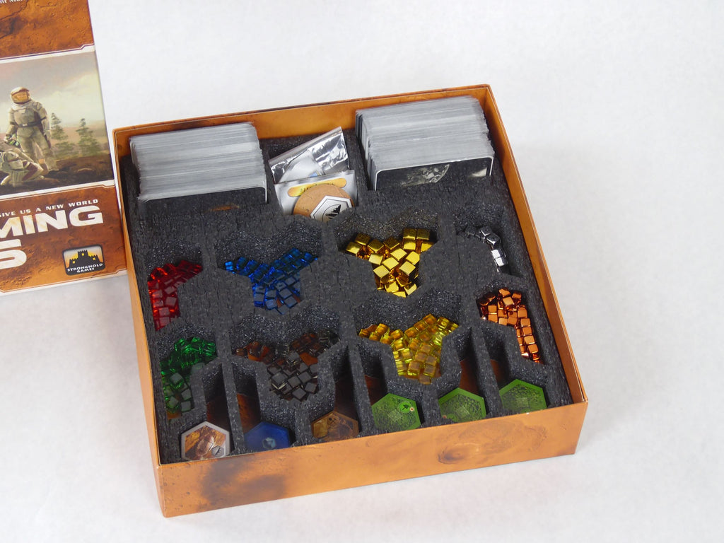 Foam Insert for Terraforming Mars