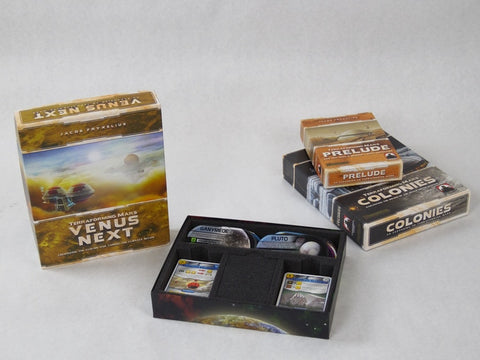 Foam Insert for Terraforming Mars Expansions