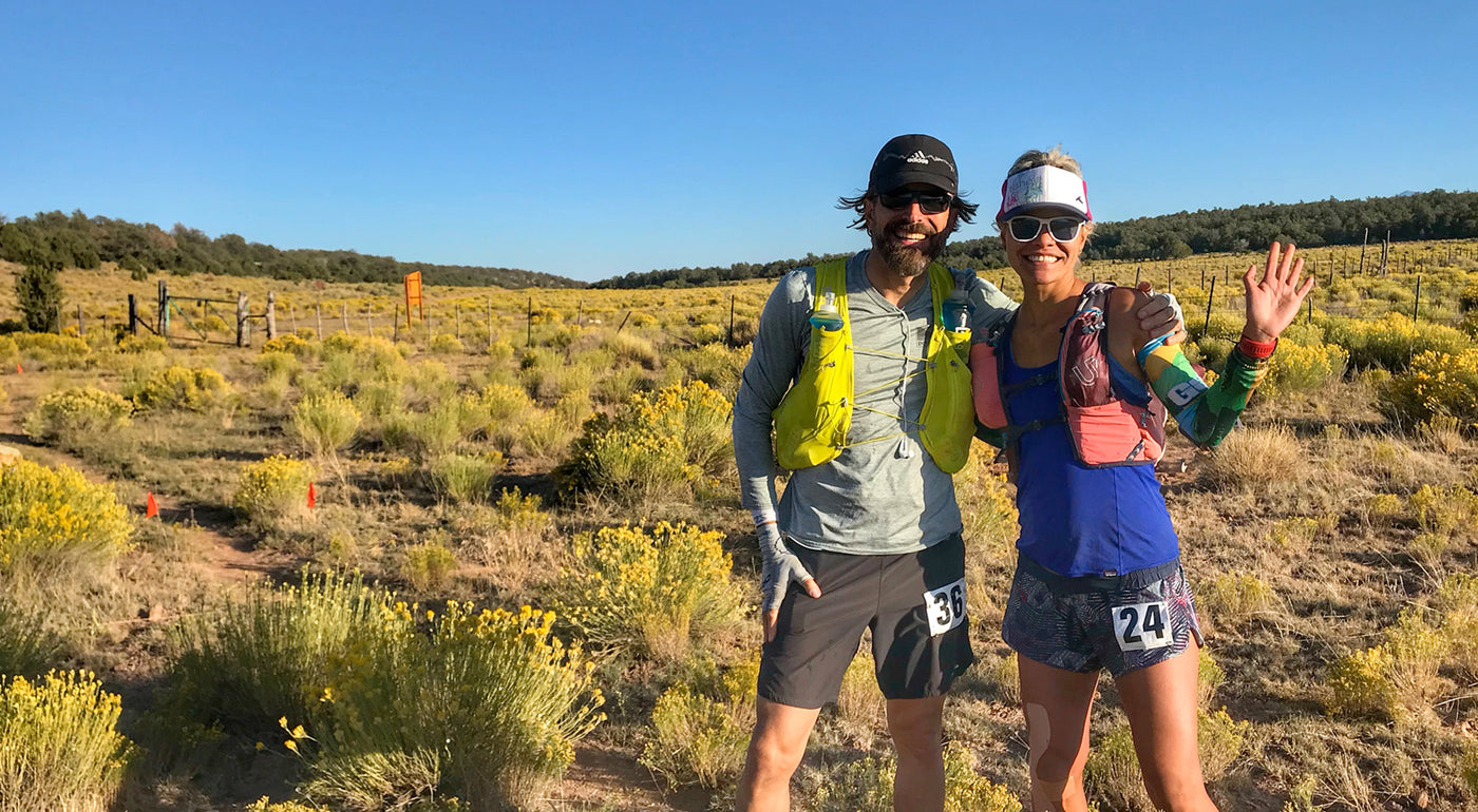 ultra race photo, running trucker visor, topless trucker, Kia Peak