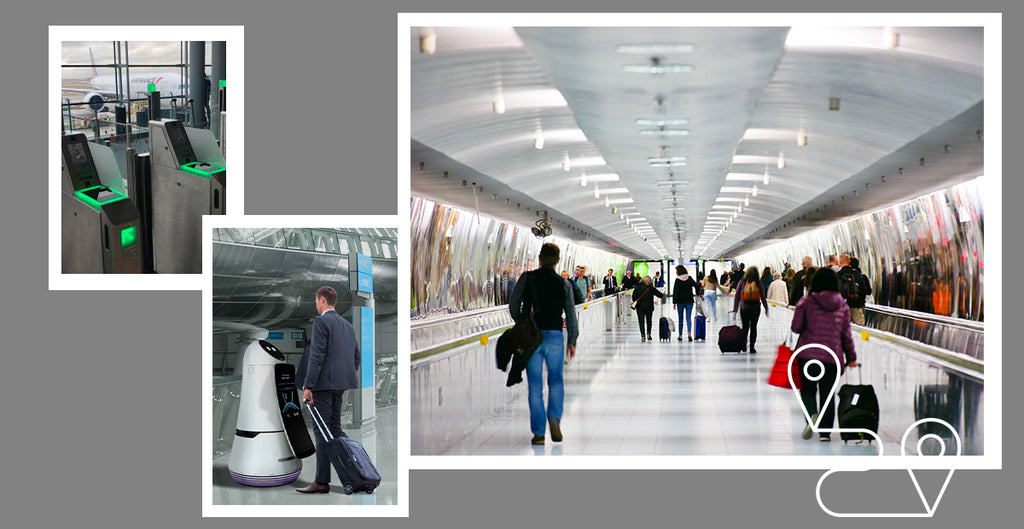 Smart airports for happy travelers