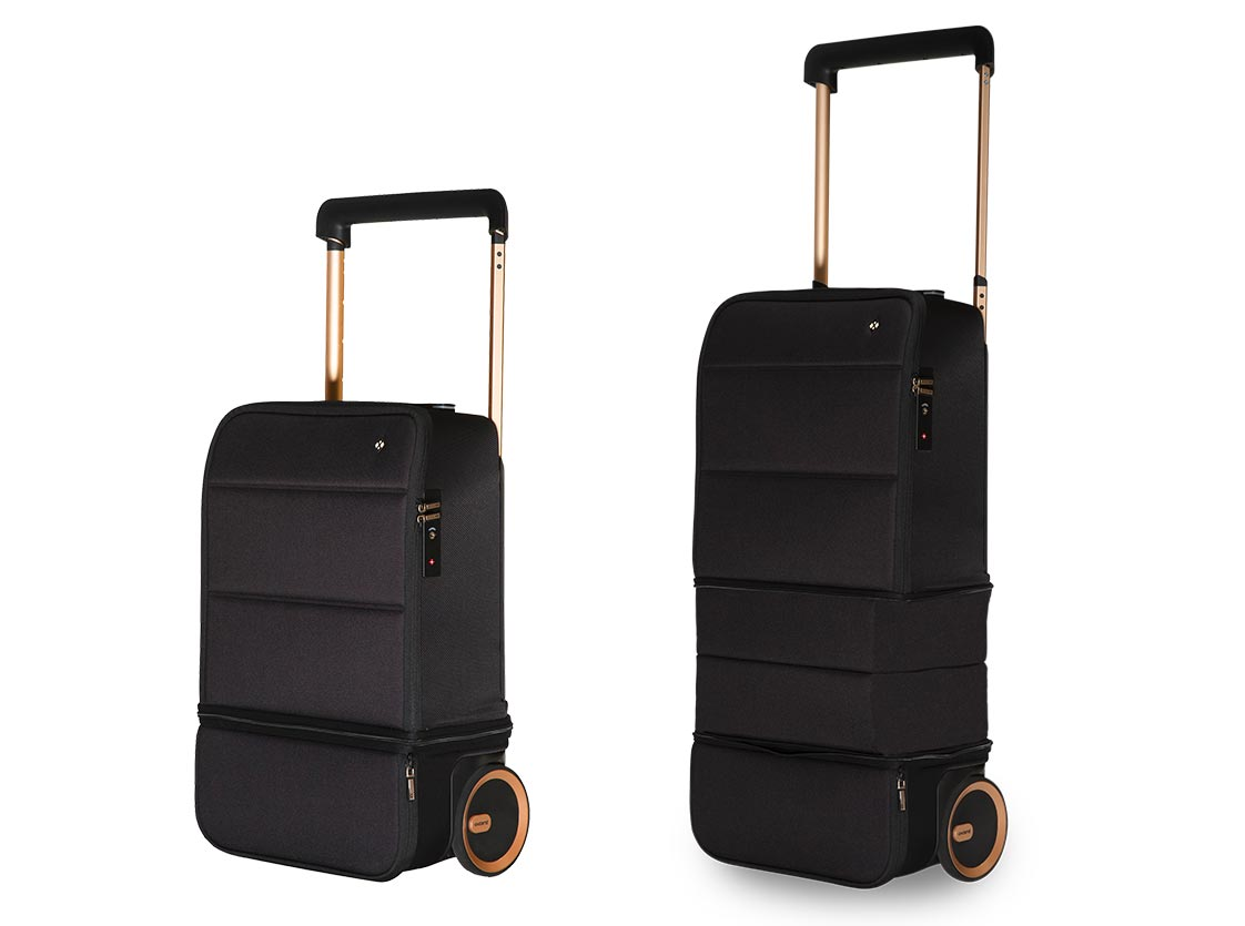 Kabuto expandable carry-on