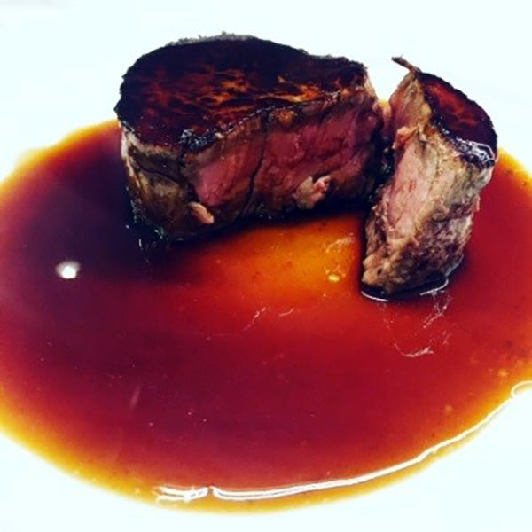 Beef Eye Fillet with Hudson Eats Red Wine Jus Recipe