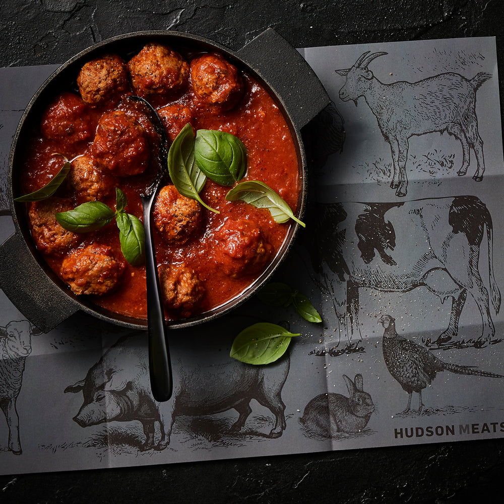 Pork & Veal Meatballs