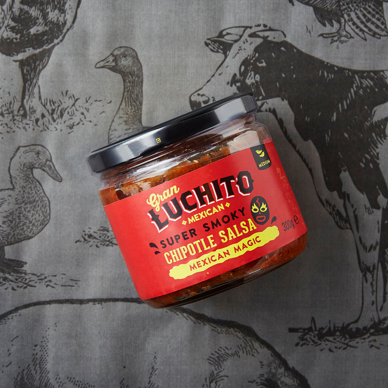 Gran Luchito Salsa Super Smoky Chipotle