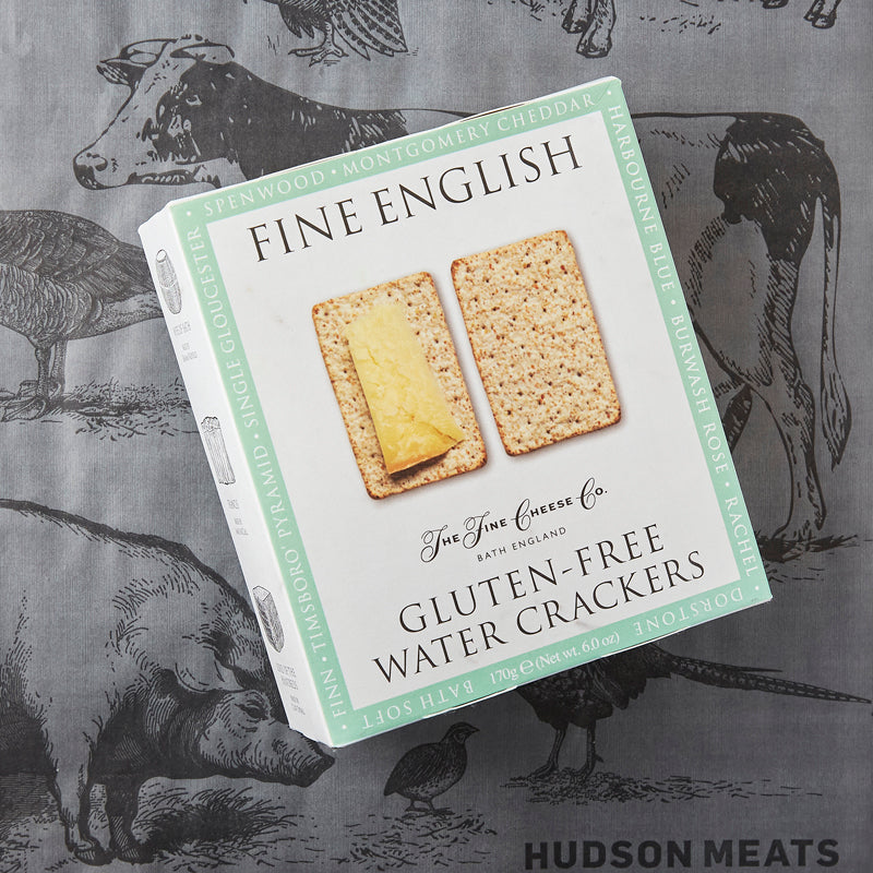 The Fine Cheese Co Water Crackers - GLUTEN FREE
