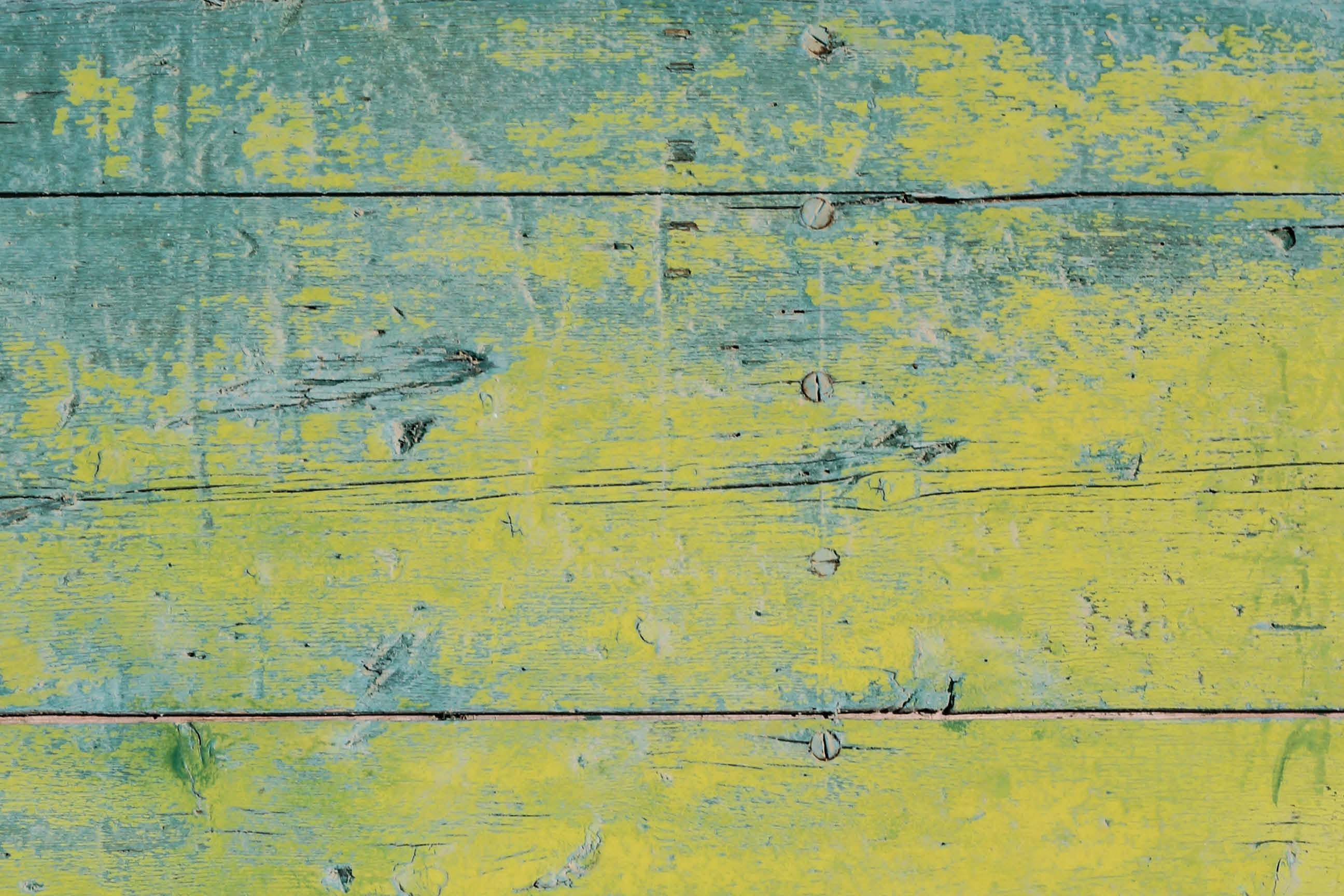 Blue Green Rough Wood Photography Backdrop