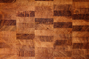 Seasoned Butcher Block Photography Backdrop | The Classic Collection