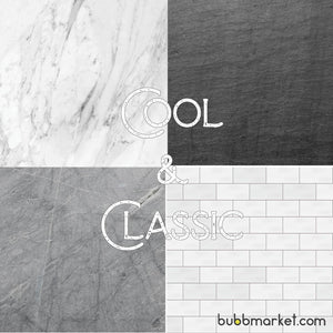 Cool & Classic Photography Backdrop Set of 4