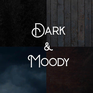 Dark & Moody Photography Backdrop Set of 4