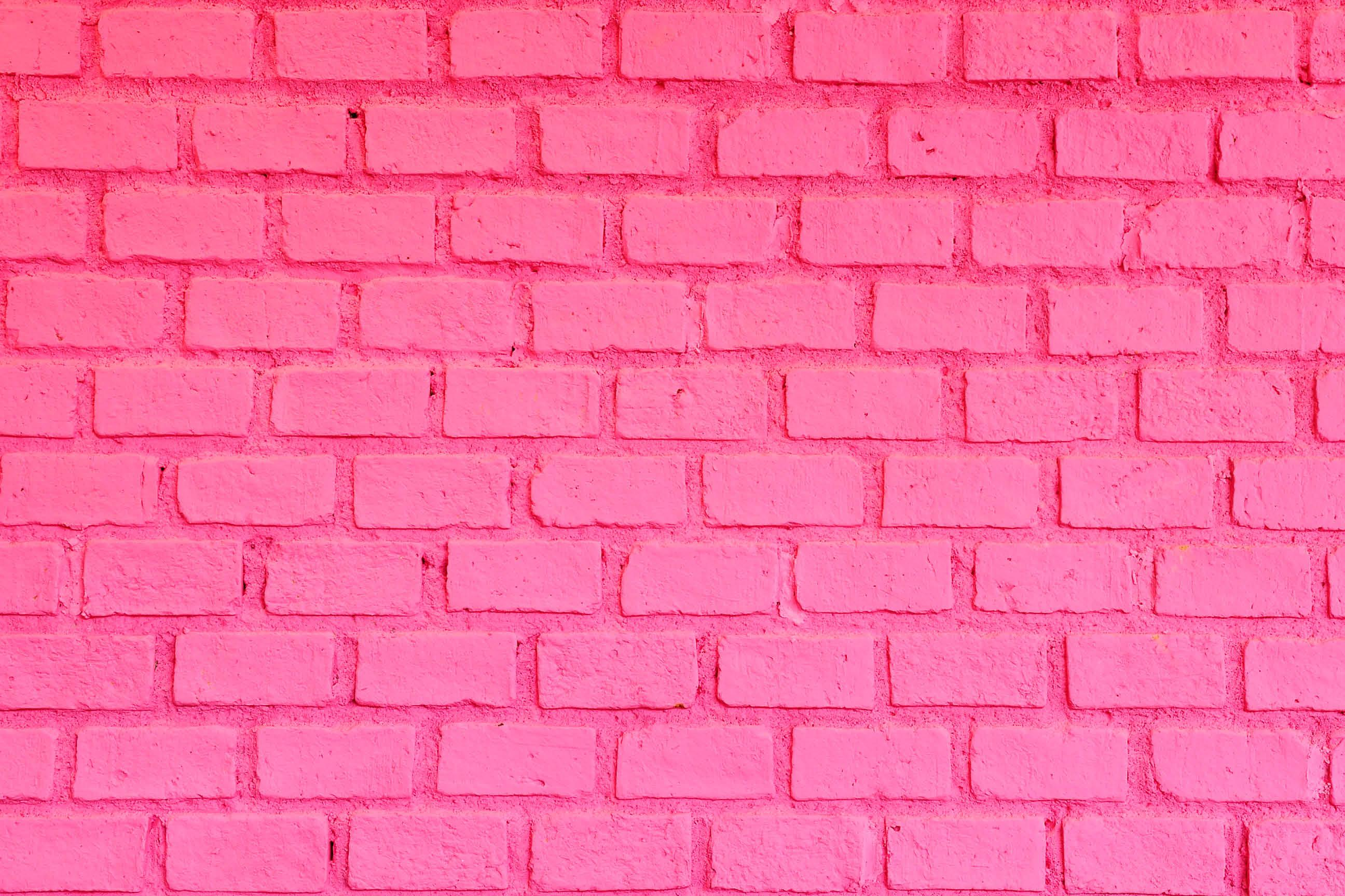 Pink Brick Photography Backdrop
