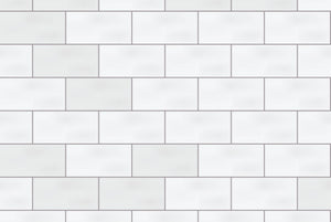 White Subway Tile Photography Backdrop | The Classic Collection