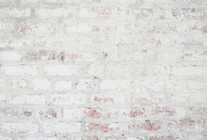 Worn White Brick Photography Backdrop