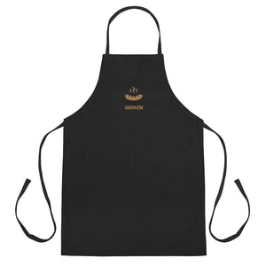 Smoken' Embroidered Apron